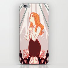 the high priestess iPhone & iPod Skin