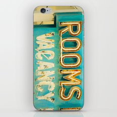 Rooms Neon Sign iPhone & iPod Skin