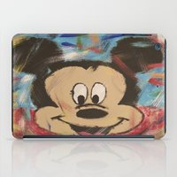 mickey iPad Cases featuring Mickey by Jason L Cohen Fine Art