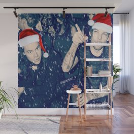 Larry Stylinson Funny Cookie Christmas Wall Mural