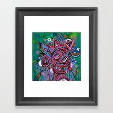 Pink Framed Art Print