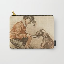 Be Kind To Animals 3 Carry-All Pouch