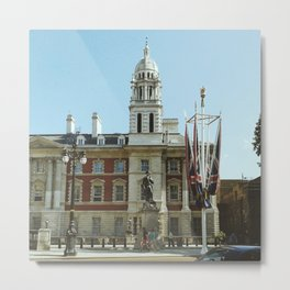 The Admiralty Extension, London Metal Print