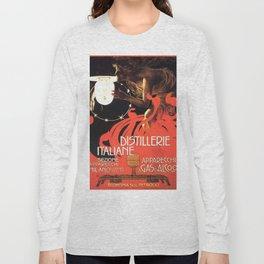 Vintage poster - Distillerie Italiane Long Sleeve T-shirt