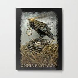 Omnia Fert Aetas Metal Print