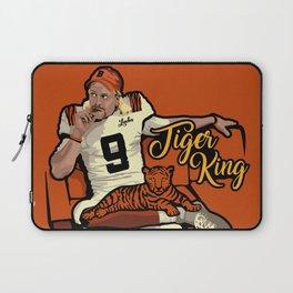 Joe Burrow Tiger King Laptop Sleeve