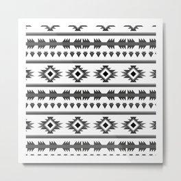 Aztech pattern Metal Print