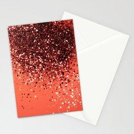 Cali Summer Vibes Lady Glitter #8 #shiny #decor #art #society6 Stationery Cards