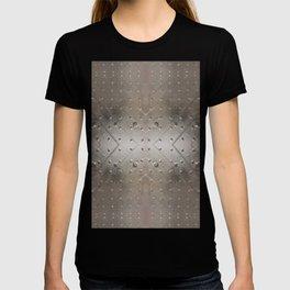 Metallic pattern T-shirt