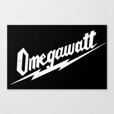 Omegawatt Canvas Print