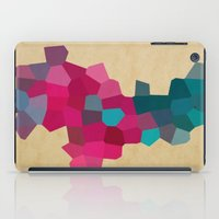 crystals iPad Cases featuring Crystals by Samantha Ranlet