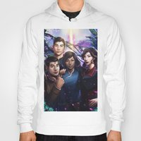 the legend of korra Hoodies featuring The Legend Of Korra by Meder Taab