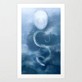 Spirited Away (No Text) Art Print