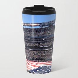 Jet's home opener - National Anthem Travel Mug