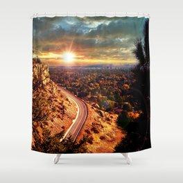 Billings Montana 2 Shower Curtain