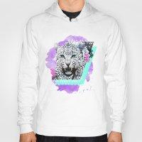 fierce Hoodies featuring Fierce Leopard by Kangarui by Rui Stalph