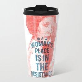 A Woman's Place Travel Mug
