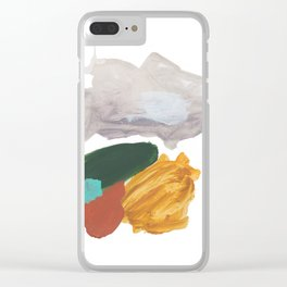 Hardly Abstract 3 Clear iPhone Case