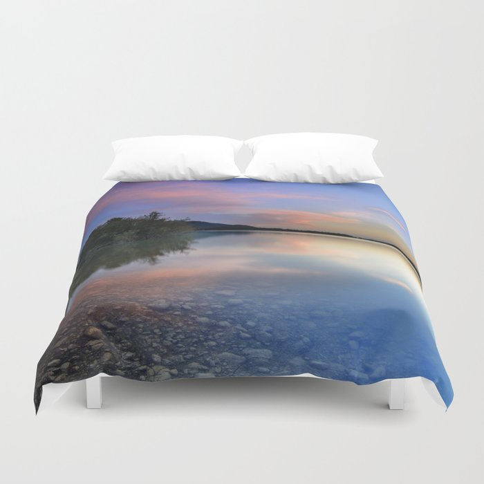 Spring clouds Duvet Cover