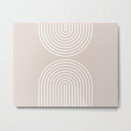 Boho & Abstract Flow Metal Print