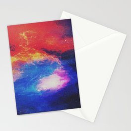 Space Galaxy Stationery Cards