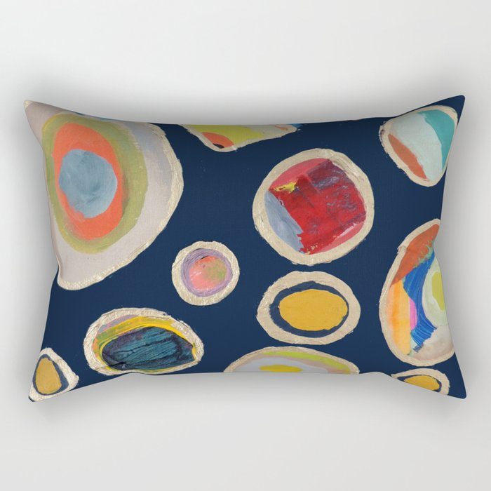 les cailloux Rectangular Pillow