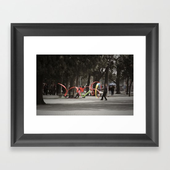 Wind Machine Framed Art Print
