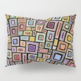 Squares Dancing Pillow Sham