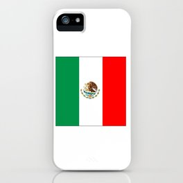 mexican's flag iPhone Case