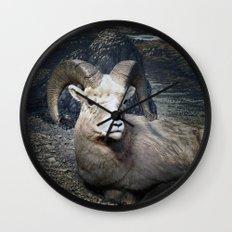 Tom Feiler Mountain Goat Wall Clock