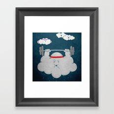 Water Weight Framed Art Print