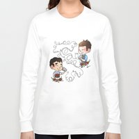 glee Long Sleeve T-shirts featuring The Sound Of Love by Sunshunes