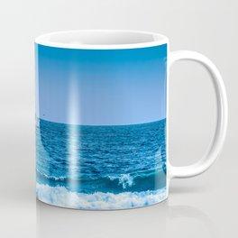 Deep Blue Fishing Coffee Mug