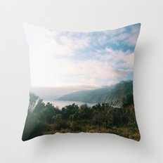 Kirk Creek, Big Sur Throw Pillow