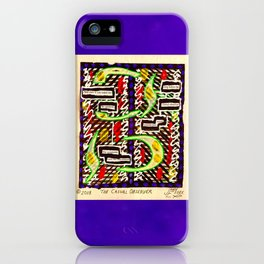 The Casual Observer iPhone Case
