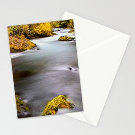 McKenzie River Oregon Autumn Canvas Print, Photographic Print, Art Print, Framed Print, Stationery Cards