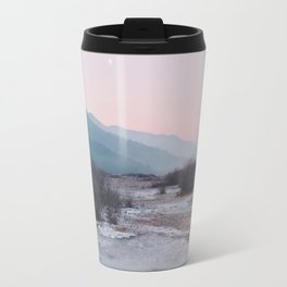 Frozen morning Travel Mug