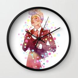 Janelle Monae's Neon Dream Wall Clock