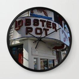 Lobster Pot Wall Clock