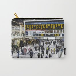 London Train Station Art Carry-All Pouch