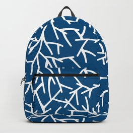 Branches - Blue Backpack