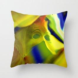 Manifestation in Yellow Throw Pillow