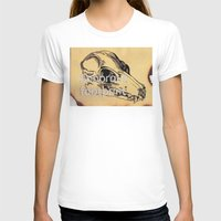 murakami T-shirts featuring Sonorous Footprint by Polly Reichelt