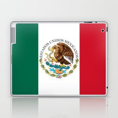 Flag of Mexico - alt version with seal insert Laptop & iPad Skin