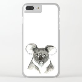 KOALA Clear iPhone Case