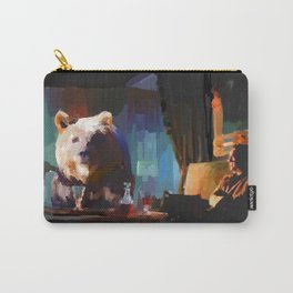 The Dinner Guest or The Bear who came to Dinner Carry-All Pouch
