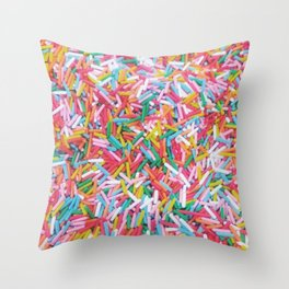 Sprinkle Me Throw Pillow