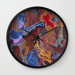 Jazz Shack Wall Clock