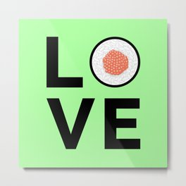 Love For Sushi II Metal Print