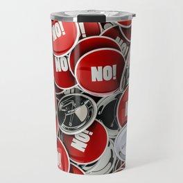 NO! Travel Mug